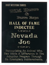 Joe's Plaque